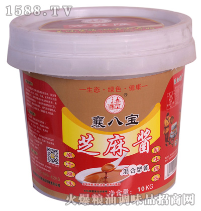 芝麻酱(混合型酱)10千克-襄八宝