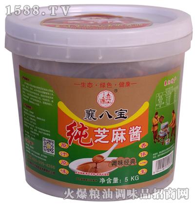 纯芝麻酱(调味经典)5千克-襄八宝