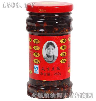 风味豆豉280克-农头妹