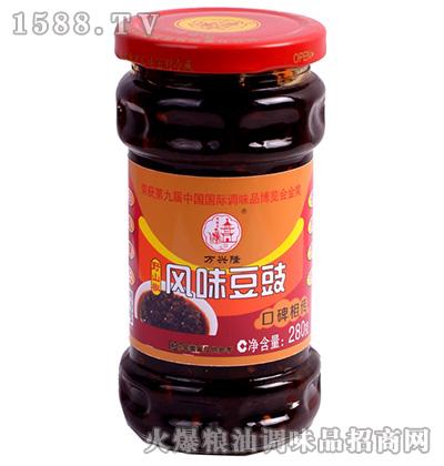 野山椒风味豆豉280克-万兴隆