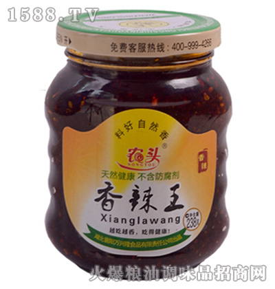 香辣王238克-农头