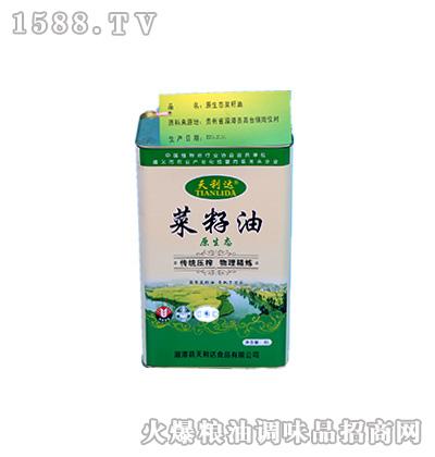 原生态菜籽油4升-天利达