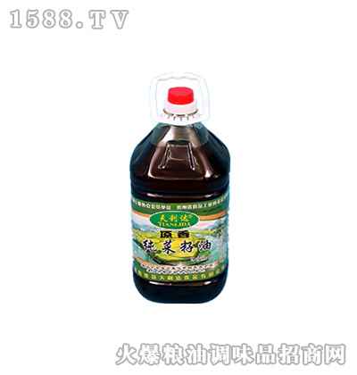 原香纯菜籽油5升-天利达