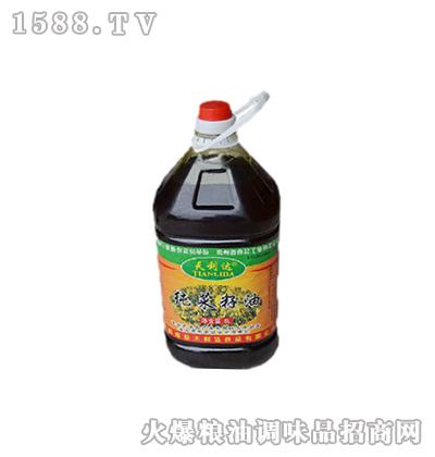 纯菜籽油5升(桶装)-天利达