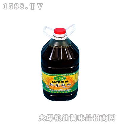 压榨浓香纯菜籽油14千克-天利达