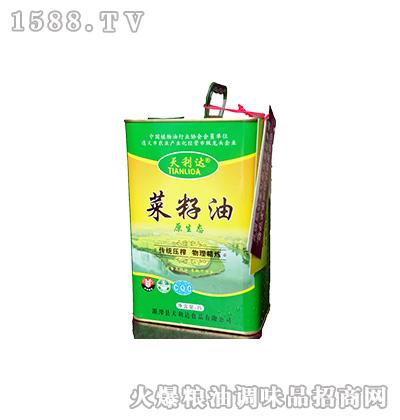 原生态菜籽油2升-天利达