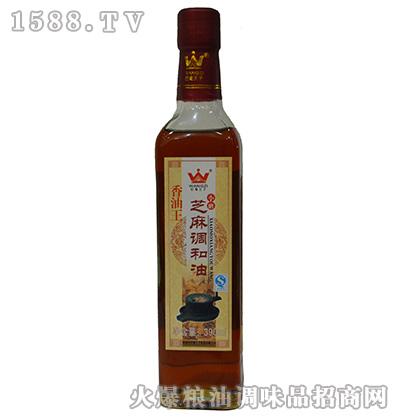芝麻调和油(香油王)390ml-巴蜀王子