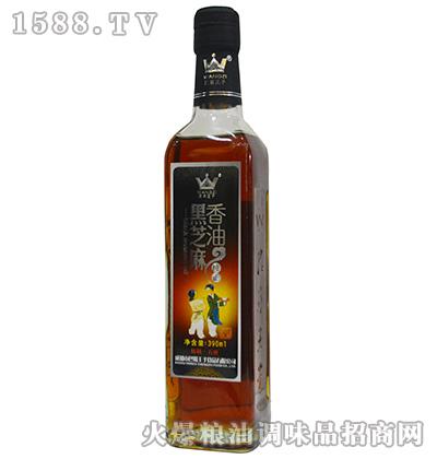 纯正黑芝麻香油390ml-巴蜀王子