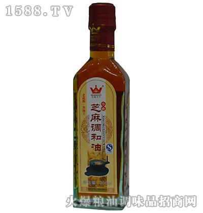 小磨芝麻调和油200ml-巴蜀王子