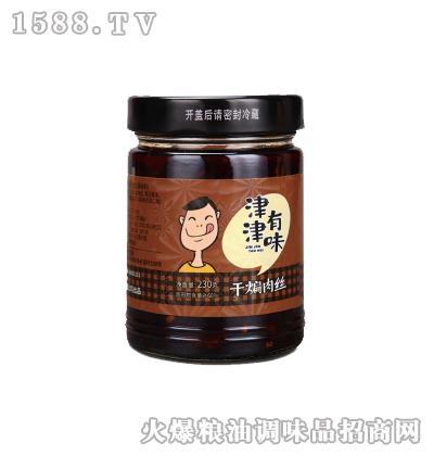 干煸肉丝辣酱230g-津津有味