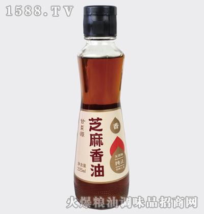 纯正芝麻香油225ml-甘源牌