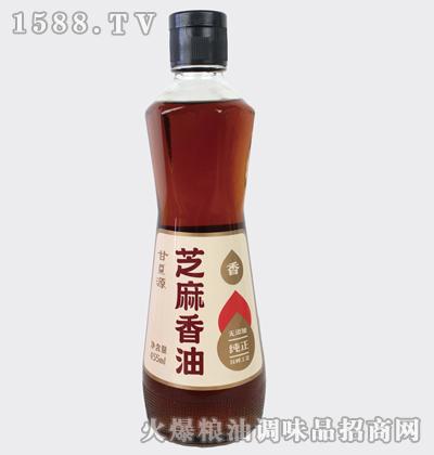 纯正芝麻香油455ml-甘源牌