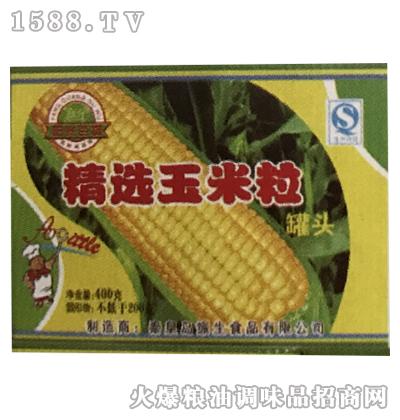 精选玉米粒罐头箱装-振生