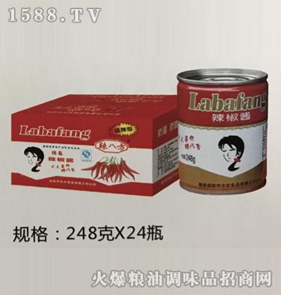 辣椒酱248g-辣八方