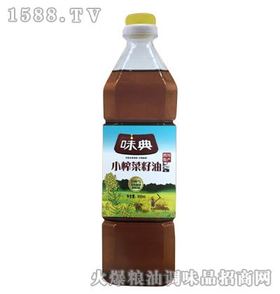 味典小榨菜籽油