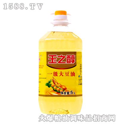 一级大豆油5升-玉之醇