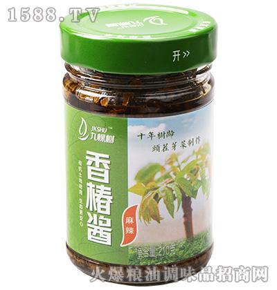 麻辣香椿酱210克-九棵树