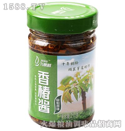 秘制原味香椿酱210克-九棵树