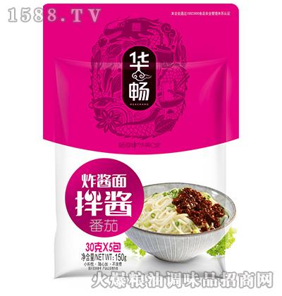 炸酱面拌酱(番茄)150克-华畅