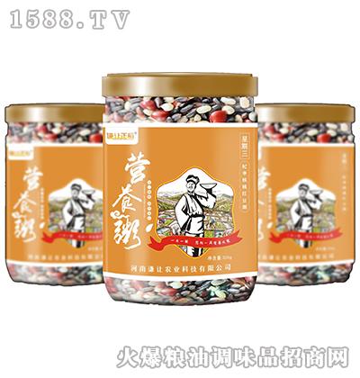 杞枣核桃红豆粥320克-谦让正稻
