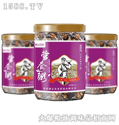 百茯芝麻麦仁粥320克-谦让正稻