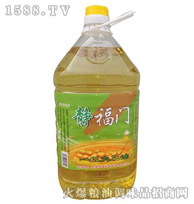 一级大豆油-静福门