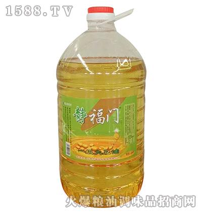 一级大豆油(红标)-静福门