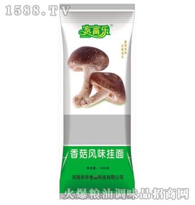 香菇风味挂面(袋装)1000克-家富乐