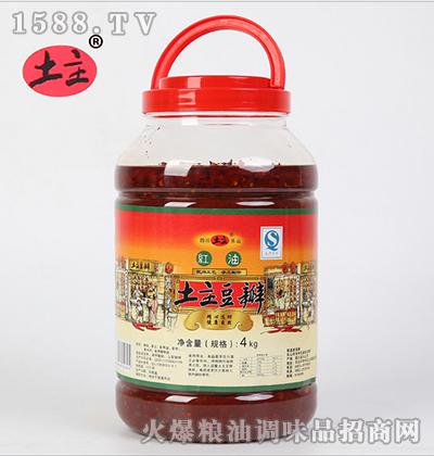 红油豆瓣酱4kg-土主