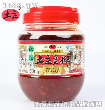 红油豆瓣酱500g-土主