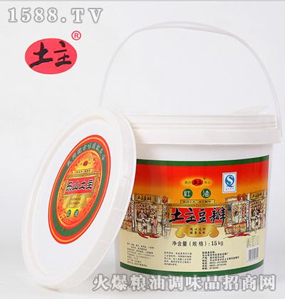 红油豆瓣酱(大桶装)15kg-土主