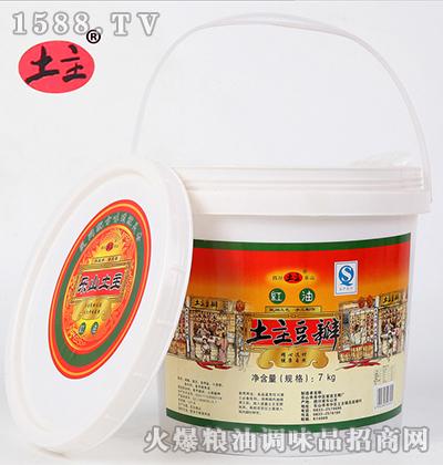 红油豆瓣酱(桶装)7kg-土主
