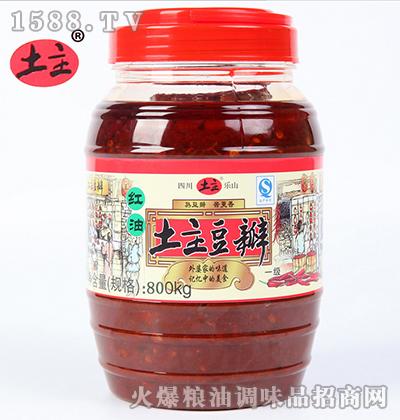 红油豆瓣酱800g-土主