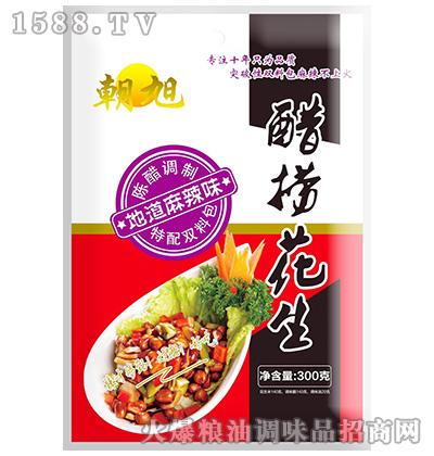麻辣味醋捞花生300克-朝旭
