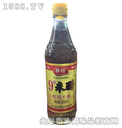 9度米醋500ml-春丹