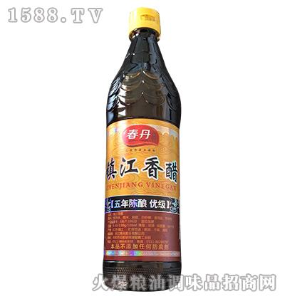 镇江香醋五年陈酿-春丹