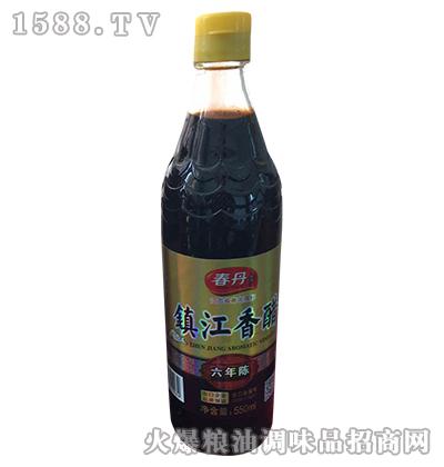 镇江香醋六年陈550ml-春丹