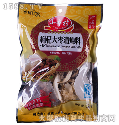 枸杞大枣清炖料120克-小香村