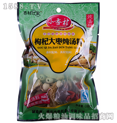 枸杞大枣炖汤料108克-小香村