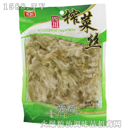 四川榨菜丝500g