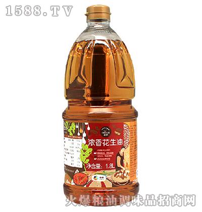 浓香花生油1.8L-中粮初萃