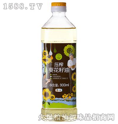 压榨葵花籽油900ml-中粮初萃