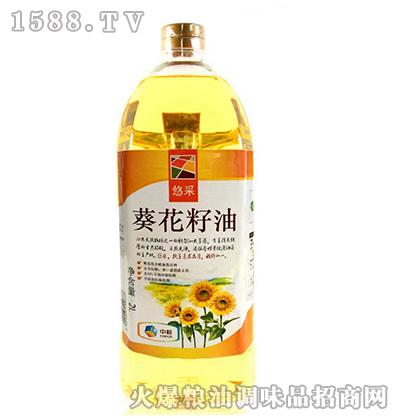 葵花籽油2L-中粮悠采