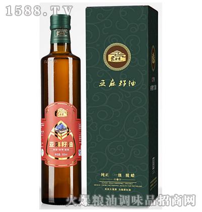 亚麻籽油500ml-蒙谷香