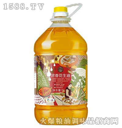 浓香花生油5L-中粮初萃