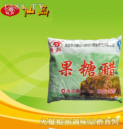 果糖醋(酿造食醋)350ml-仙岛