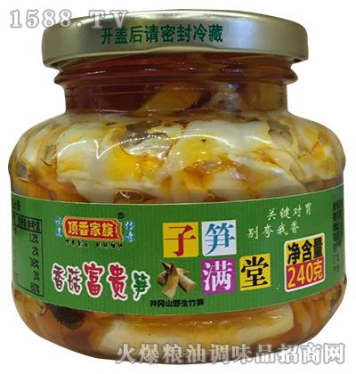香菇富贵笋240g-顶香家族