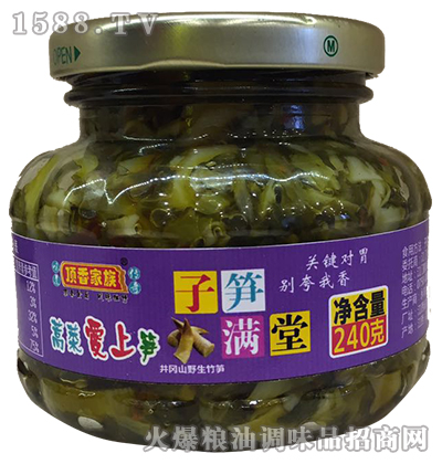 蒿菜爱上笋240g-顶香家族
