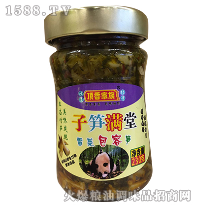 雪菜包容笋230g-顶香家族