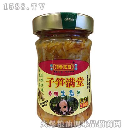 香辣生态笋230g-顶香家族